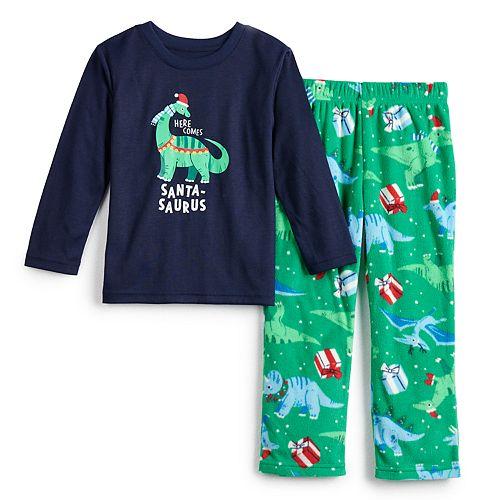 Toddler Jammies For Your Families Dino Family Tee & Pants Pajama Set