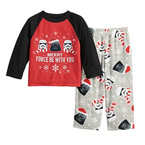 Toddler Jammies For Your Families Star Wars Top & Bottoms Pajama Set