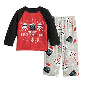 Star Wars Vader This is As Merry As I Get 4-Piece Christmas Pajama Set