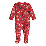 Baby Jammies For Your Families Here Comes Santa Paws One-Piece Pajama