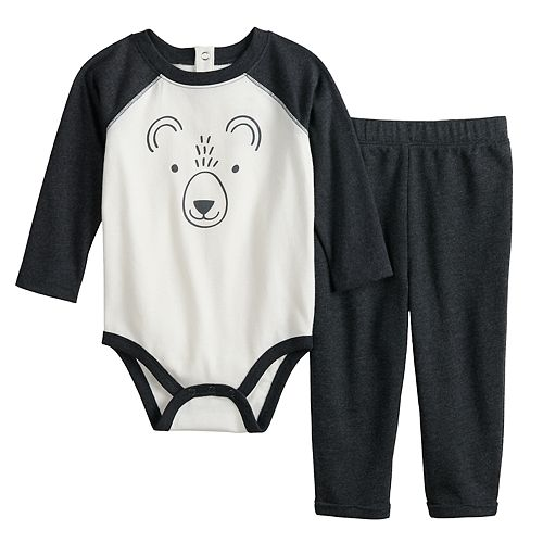 Baby Boy Jumping Beans® Graphic Bodysuit & Pants Set