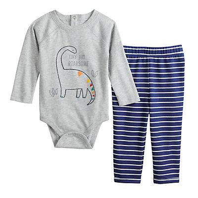 Baby Boy Jumping Beans® Graphic Bodysuit & Pants Set