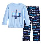 Toddler Boy Jammies For Your Families Hanukkah Family Tee & Pants Pajama Set