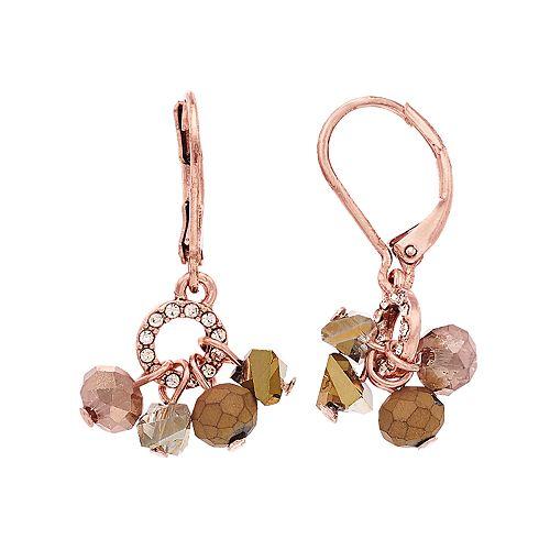 Simply Vera Vera Wang Shaky Bead Drop Earrings