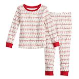 Toddler LC Lauren Conrad Jammies For Your Families Fa La La Top & Bottoms Pajama Set