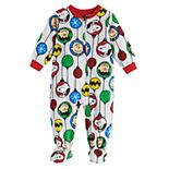 Baby Jammies For Your Families Peanuts Snoopy Footed Pajamas