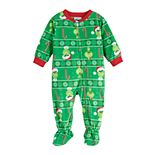 Baby Jammies For Your Families The Grinch Footed Pajamas