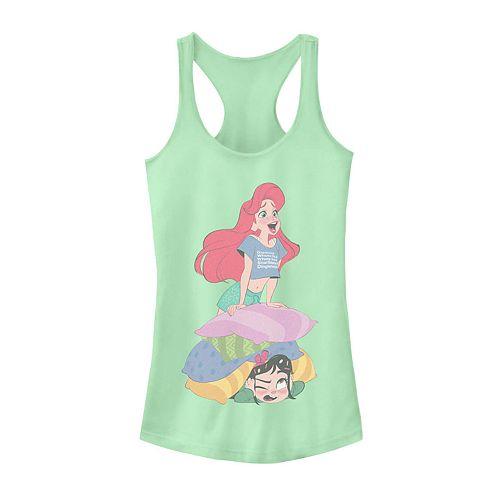 Disney Juniors' Ariel and Vanellope Slumber Party Tank