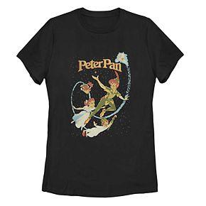 Disney Juniors' Peter Pan Fly By Night Vintage Tee