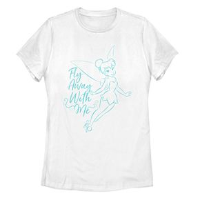 """Disney Juniors' """"Fly Away With Me"""" Tinkerbell Tee"""