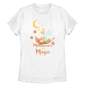 "Disney Juniors' ""Moonbeams and Magic"" Tinkerbell Tee"