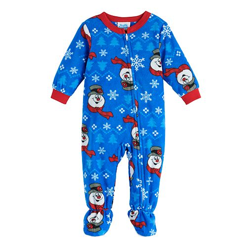 Baby Jammies For Your Families Frosty The Snowman Footed