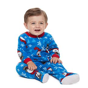 Baby Jammies For Your Families Frosty the Snowman Footed Pajamas
