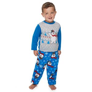 Toddler Jammies For Your Families Frosty the Snowman Top & Bottoms Pajama Set