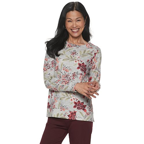 Women's Croft & Barrow® Extra Soft Sweatshirt
