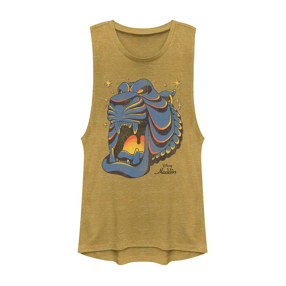 Juniors' Disney's Aladdin Cave of Wonders Graphic Muscle Tank