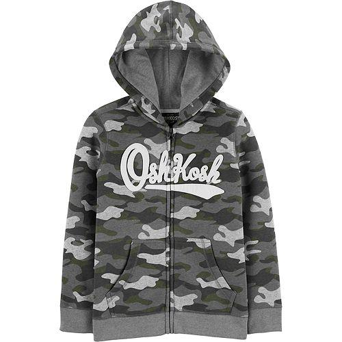 Boys 4-14 OshKosh B'gosh® Camo Logo Hoodie