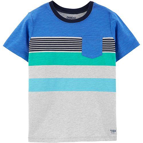 Boys 4-14 OshKosh B'gosh® Striped Pocket Tee