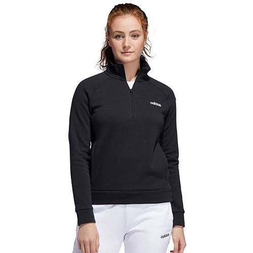 adidas 1/4 zip fleece pullover