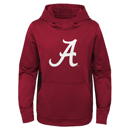 Boys 4-20 Alabama Crimson Tide Stadium Hoodie Fleece