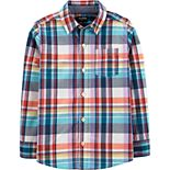 Boys 4-14 OshKosh B?gosh® Plaid Button-Down
