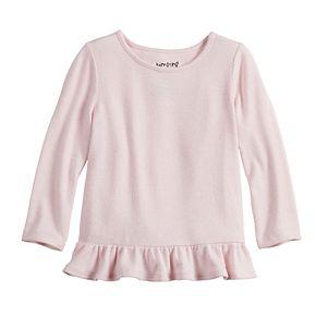 Baby Girl Jumping Beans® Peplum Hem Knit Top