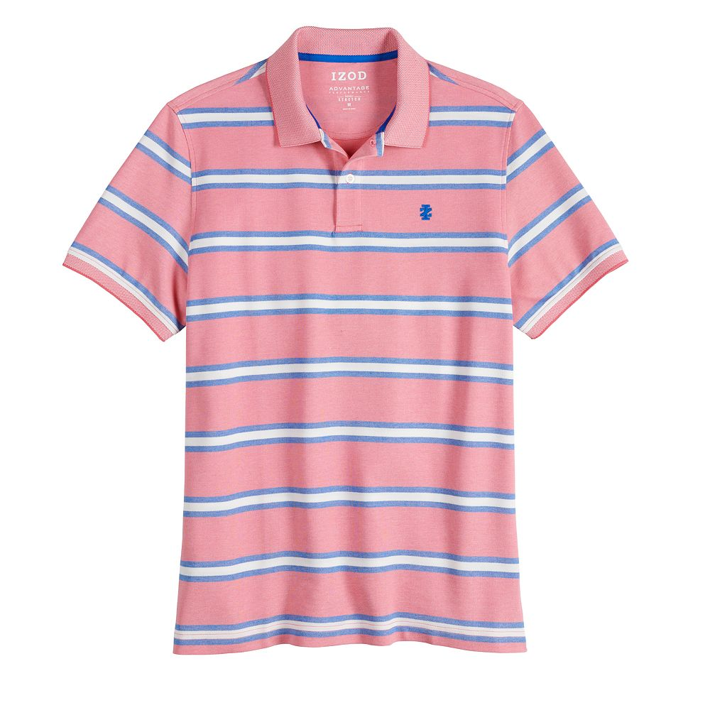 Men's IZOD Sportswear Classic Fit Performance Striped Polo Shirt