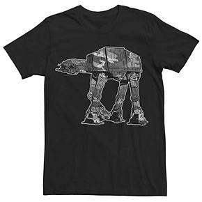 Men's Star Wars Camouflage Graphic Tee