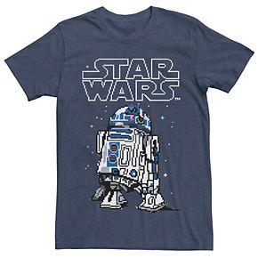 Men's Star Wars R2-D2 Pixel Tee