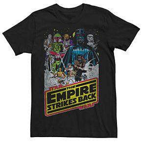 Men's Star Wars The Empire Strikes Back Poster Tee