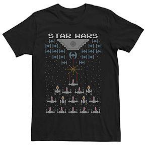 Men's Star Wars Graphic Pixel Tee