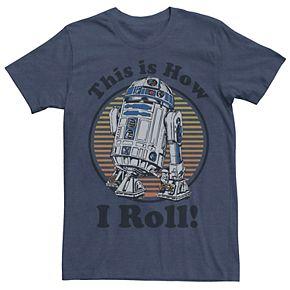 Men's Star Wars R2-D2 Graphic Tee