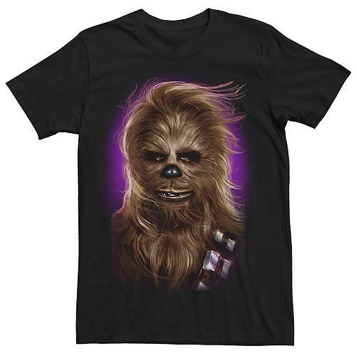 Men's Star Wars Chewbacca Portrait Tee