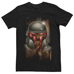 Men's Star Wars Boba Fett Portrait Tee