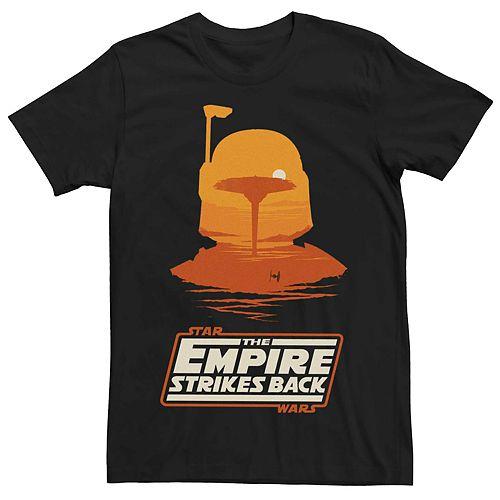 Men's Star Wars Empire Strikes Back Boba Fett Logo Tee