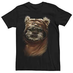 Men's Star Wars Ewok Portrait Tee