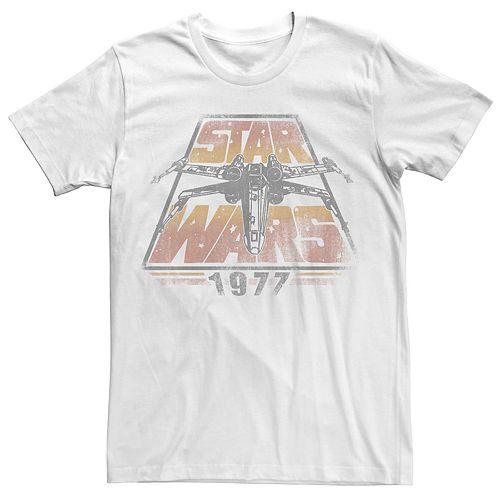 Men's Star Wars 1977 Vintage Logo Tee