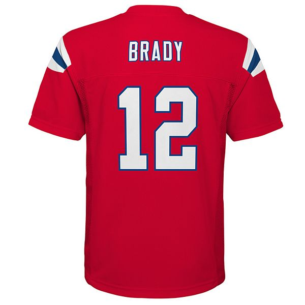 Boys 8-20 New England Patriots Tom Brady Replica Jersey