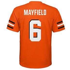 Boys 8-20 Cleveland Browns Baker Mayfield Replica Jersey