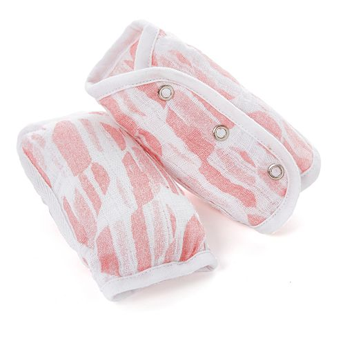 Girls aden + anais® Essentials Strap Covers, Briar Rose