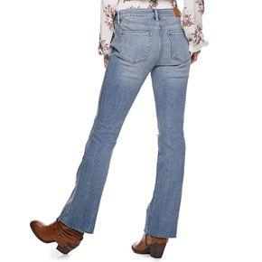 Juniors' American Rag High Rise Boot Cut Jean