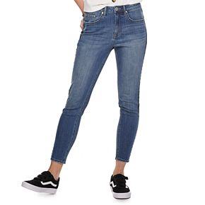 Juniors' American Rag Embroidered Stripe Jeans
