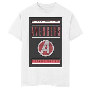 Boys' Marvel Avengers Endgame Stronger Together Poster Graphic Tee