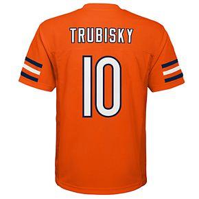 Boys NFL BOYS 8-20 Chicago Bears Mitch Trubisky Replica Jersey