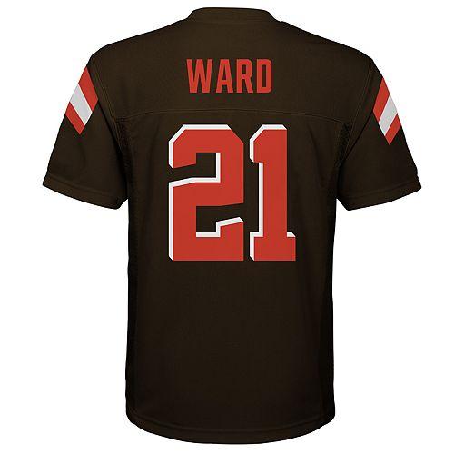 Boys 8-20 Cleveland Browns Denzel Ward Replica Jersey