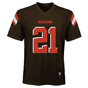 Boy's 8-20 NFL Cleveland Browns Mid Tier Replica Jersey