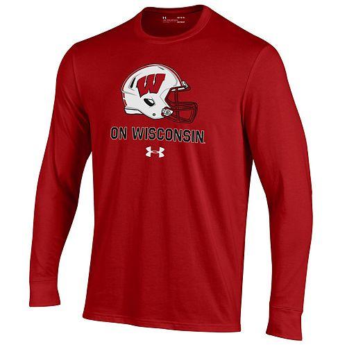 Men's Wisconsin Badgers Performance Cotton Shirt