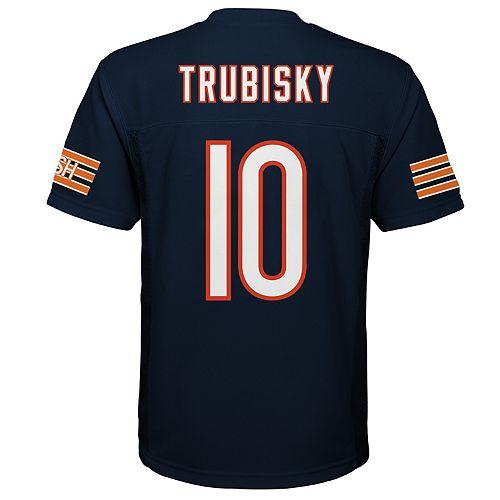 Boys 8-20 Chicago Bears Mitch Trubisky Replica Jersey