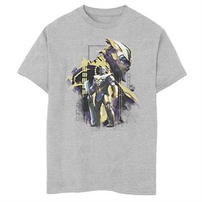 Boys' Marvel Avengers Endgame Titan Profile Portrait Graphic Tee