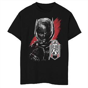 Boys' Marvel Avengers Endgame Ant-Man Tag Portrait Graphic Tee
